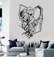 vinyl wall decal mummy zombie horror coffin stickers mural 341ig vinyl wall decal mummy zombie horror coffin stickers mural 341ig