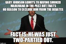 Gary Johnson Memes - gary johnson podium memes imgflip