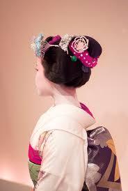 Geisha Hairstyles Hairstyles Of Maiko Katsuyama From Geisha Kai During Gion