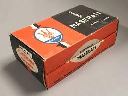 maserati orange 06 a complete box of 12 maserati spark plugs tipo fm145