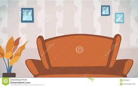 livingroom cartoon home livingroom background vector for cartoon animation