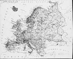 Map Of Europe Black And White by Map Of Europe An Image Today Of A Bygone Age An Age When U2026 Flickr