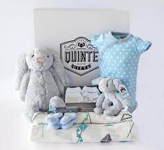 baby gufts baby river gift box complete gift set for new babies boy blue