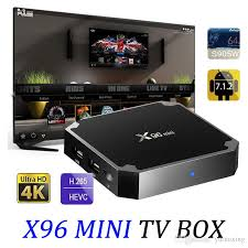 android tv box x96 mini android tv box amlogic s905w 1gb 8gb 2gb 16gb