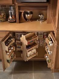 impressive kitchen cabinet storage ideas with glamorous corner