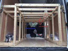 motocross race van bed frame construction u2013 sprinter van diaries