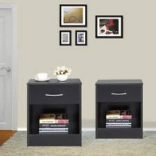 Small Nightstand With Drawers Nightstands Ebay