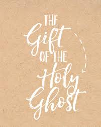 a fun lesson on the gift of the holy ghost a and a glue gun