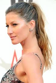 the hottest ponytail hairstyles for prom gisele bundchen