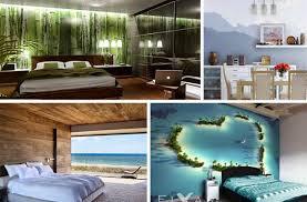 schlafzimmer fototapete karibik für zu hause 40 unglaublich schöne fototapeten designs