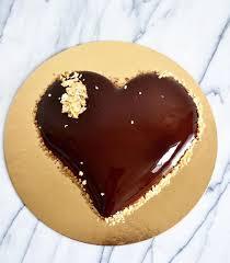 glaçage miroir chocolat cake beauty