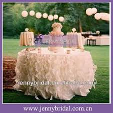 wedding table linens for sale ts017a sale popular white and ivory organza elegant curly willow