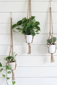 plant stand archaicawful how tocrame plant holder photos design