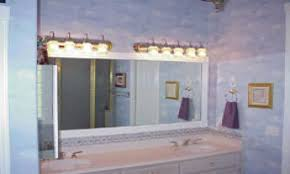 awesome bathroom mirror with lights stainless steel high double