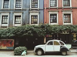 classic citroen classic citroen street free stock photo negativespace