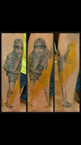 acdc tattoo ac dc mega fan shows his u0027high voltage u0027 fandom with his ten