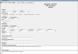 accident injury report form template zeraware pricing features reviews comparison of alternatives zeraware screenshot zeraware enterprise dashboard chart zeraware screenshot zeraware incident report module