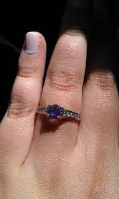 gemstone wedding rings post your colored gemstone engagement rings weddingbee
