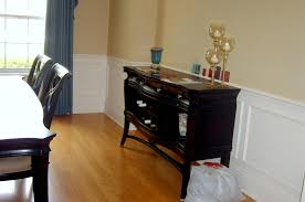 dining room wall molding dining room decor ideas and showcase design