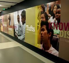 wall coverings lobby graphics interiors custom wallpaper tufts wall mural