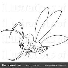 mosquito clipart 1229235 illustration by alex bannykh