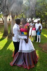 Traditional Wedding Dresses A Traditional Wedding And South African Cultural Fashion