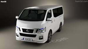 nissan van nv350 360 view of nissan nv350 caravan 2012 3d model hum3d store