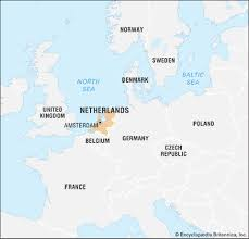 netherlands location in europe map netherlands facts destinations and culture