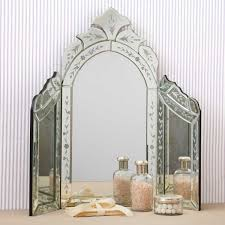 folding dressing table mirror two s company venetian style dressing table mirror amazon co uk