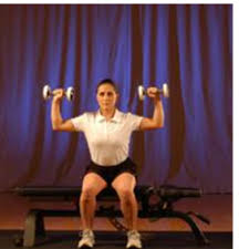 Chair Squat One Fabulous Exercise Chair Squat To Shoulder Press Cooper