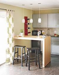 Narrow Kitchen Bar Table Small Space Gallery Dining At The Counter In Style Space