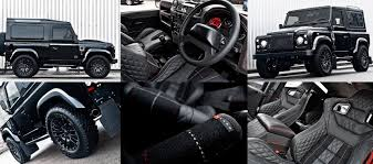 land rover 110 interior land rover defender harris tweed edition by kahn design high