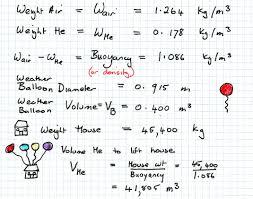 weather balloon math mathspig blog