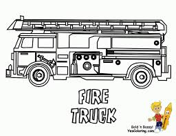 coloring fire truck color beautiful coloring 38