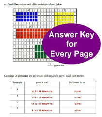 area and perimeter lesson plan classroom caboodle