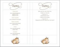 free menu templates template business
