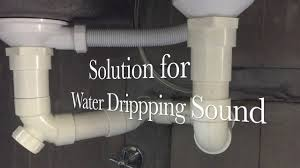 Bathroom Sink Makes Gurgling Noise - dripping sound at kitchen sink youtube