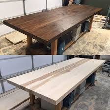 10 x 4 conference table 3 thick table top made from 4 4 hickory 4 x 10 mcm conference