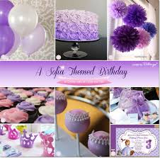 sofia the birthday party ideas sofia themed birthday party ideas in ombre hues of purple and pink