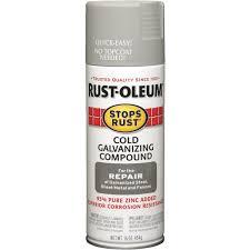 rust oleum stops rust cold galvanizing compound anti rust spray