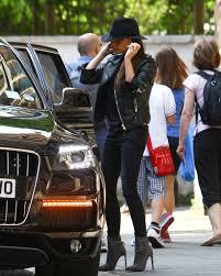 velvet car khloe splurge victoria beckham u0027s london balenciaga leather jacket