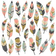 feather designs collection vector free