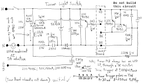other circuits switch digital timer light schematic wiring