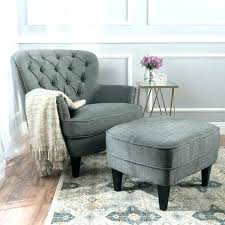 chair with matching ottoman reading chair and ottoman with slipcover set bedroom a this club