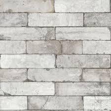tapete vlies 3d steine mauer vintage grau weiß 446302 rasch tapete