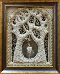 macrame religious icons applied the faith tree