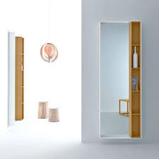 bathrooms design perfect bathroom mirrors with side shelves on