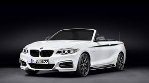 bmw m performance parts introduced for 2 series convertible