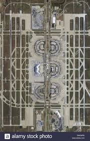Dfw Terminal Map Aerial Map View Above Dallas Fort Worth Airport Dfw Irving Texas