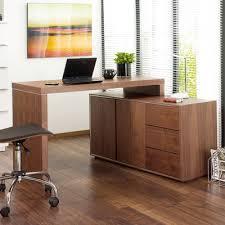 Office Desk Walnut Executive Office Desk Walnut Dwell